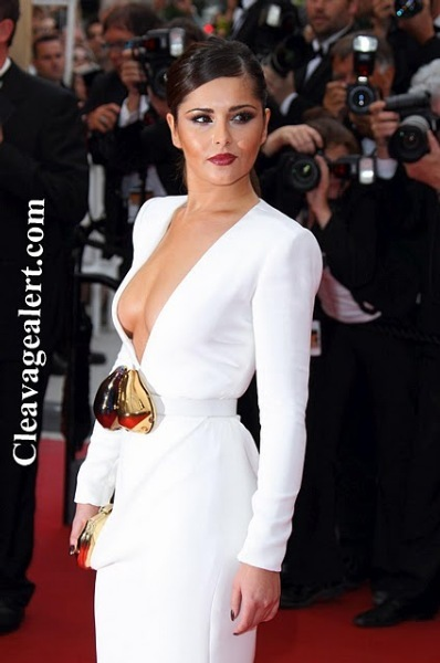 cheryl cole sexy cleavage at habemus papam premiere in cannes 10 final 1